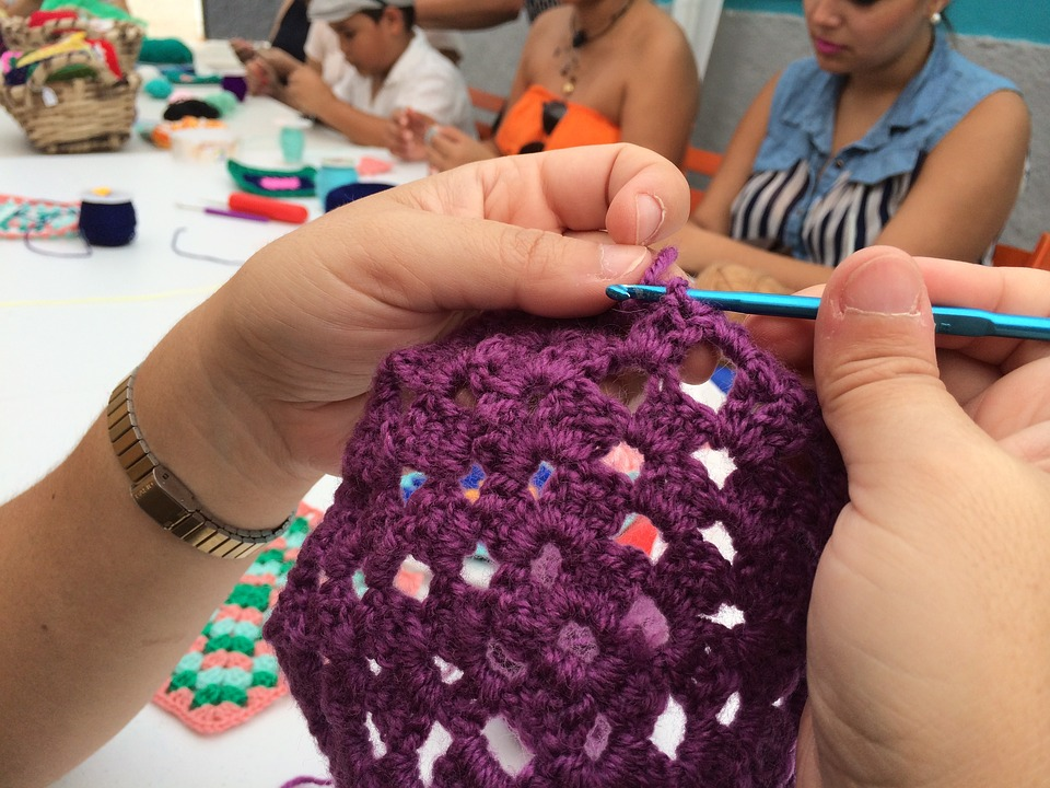 Crocheting on the Go