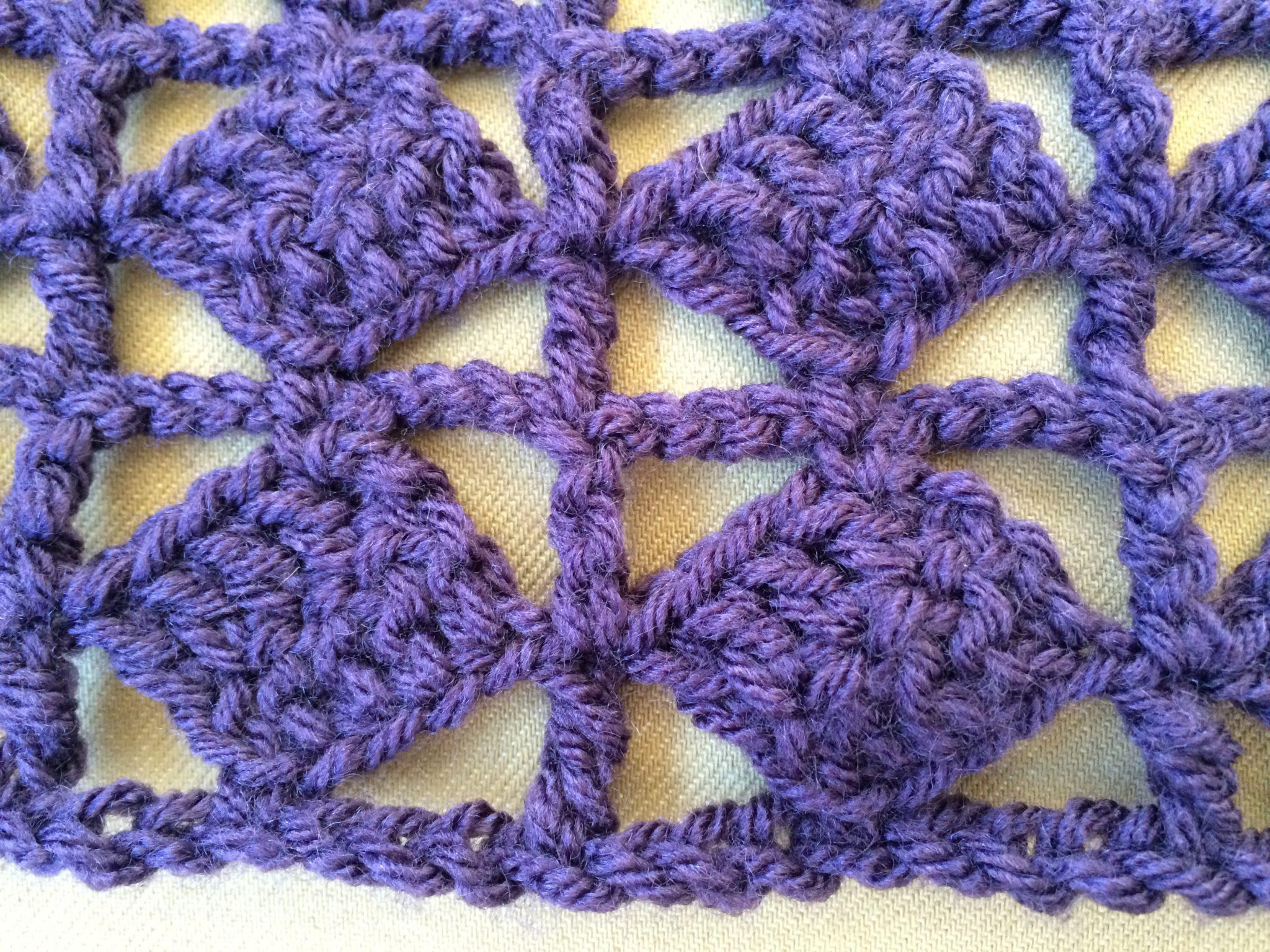 Trellis Pattern – Crochet Stitches