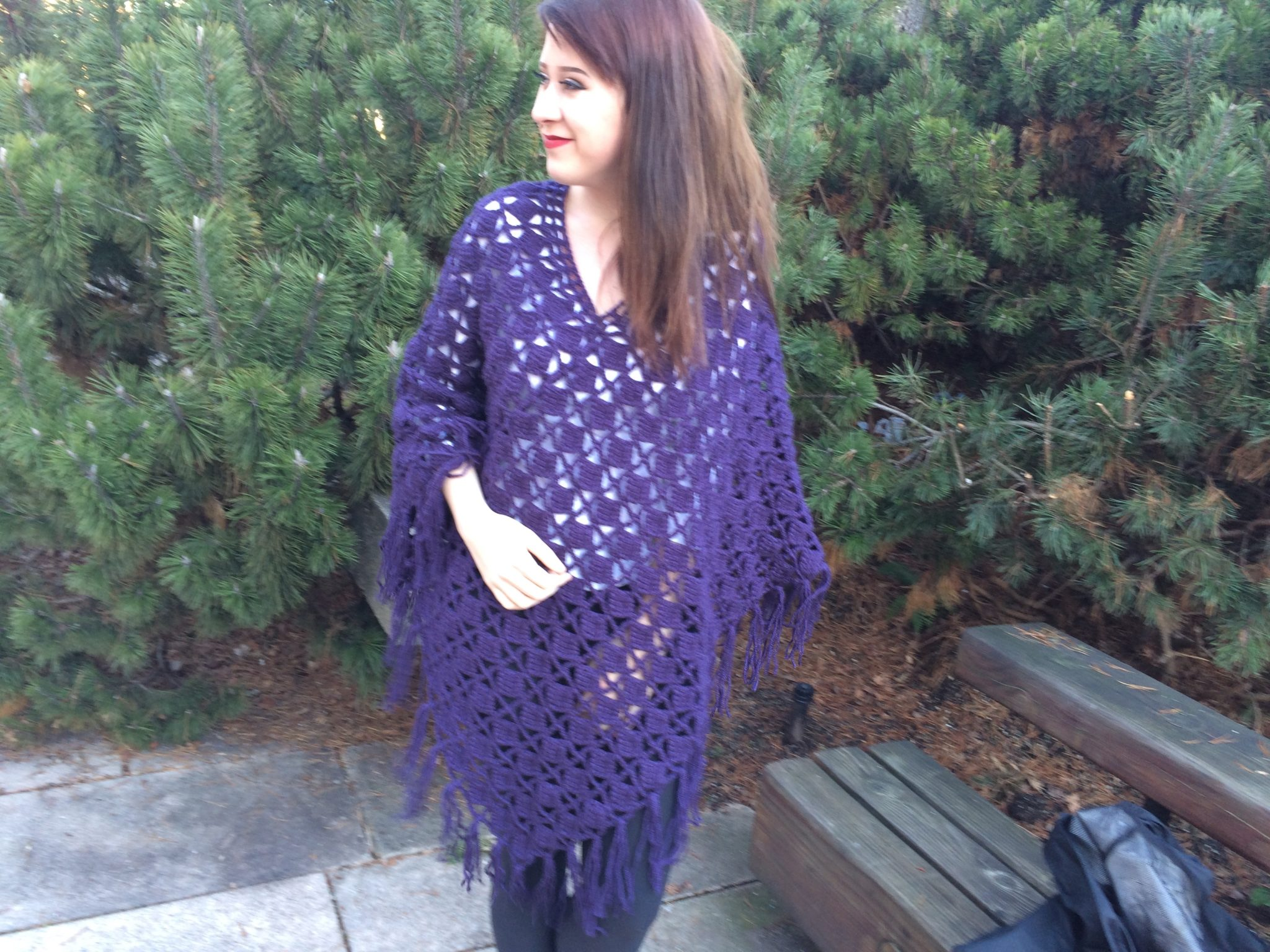 All About Crochet Ponchos